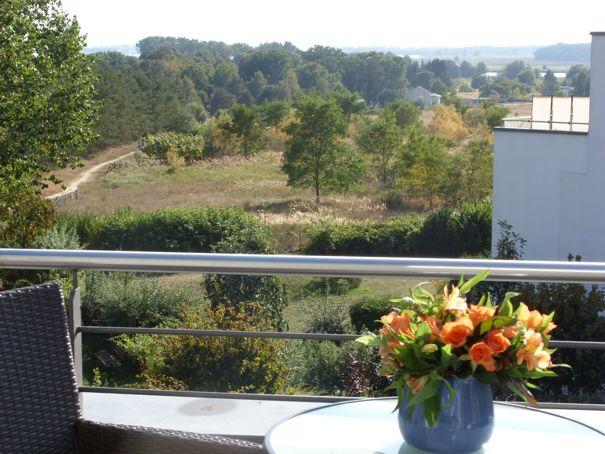 Penthousewohnung mit Achterwasserblick in der Residenz Bellevue, www.fewo-usedom.cc